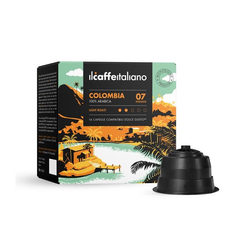 Immagine che raffigura le capsule compatibili Dolce Gusto ®,aroma colombia,dccol96,immagine 1