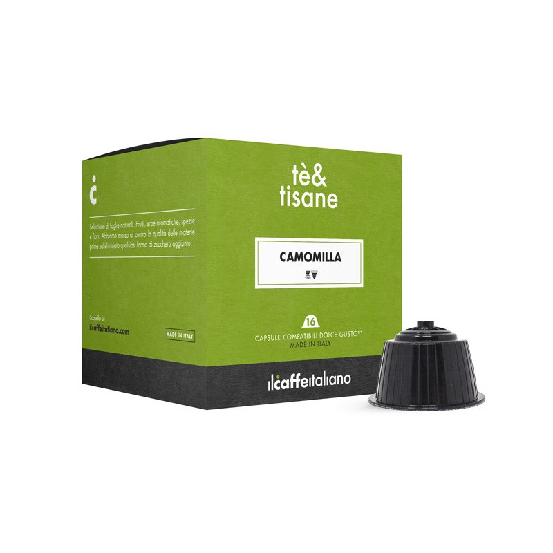 Immagine che raffigura le capsule compatibili Dolce Gusto ®,aroma camomilla,mdctca48,immagine 1