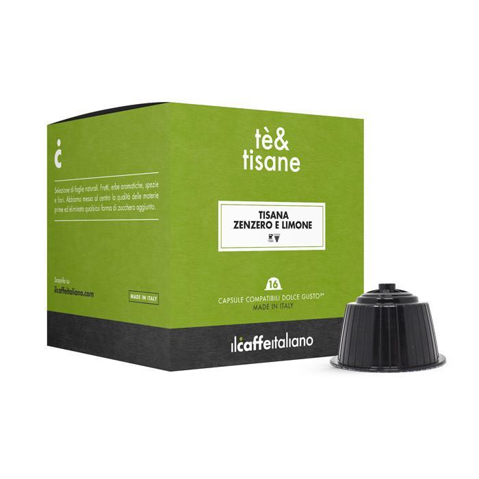 Immagine che raffigura le capsule compatibili Dolce Gusto ®,aroma zenzero e limone,mdctzl48,immagine 2