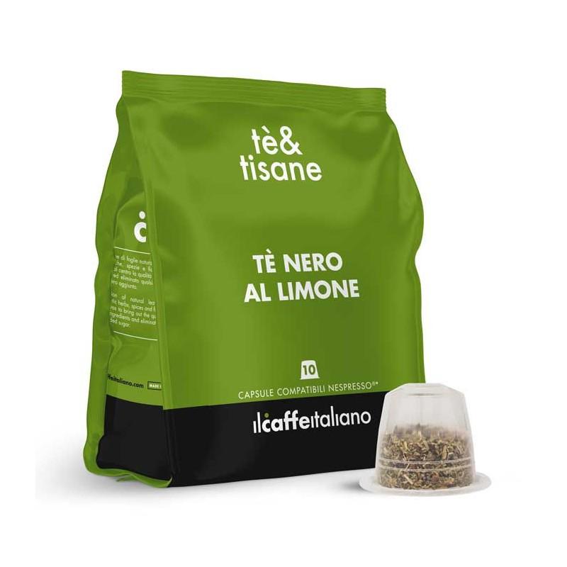 immagine che raffigura le capsule compatibili Nespresso ® , aroma Tè Nero al Limone, NTHTNL , immagine 1