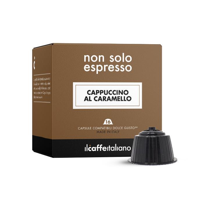 Immagine che raffigura le capsule compatibili Dolce Gusto ®,aroma cappuccinocaramello,mdccar48,immagine 1