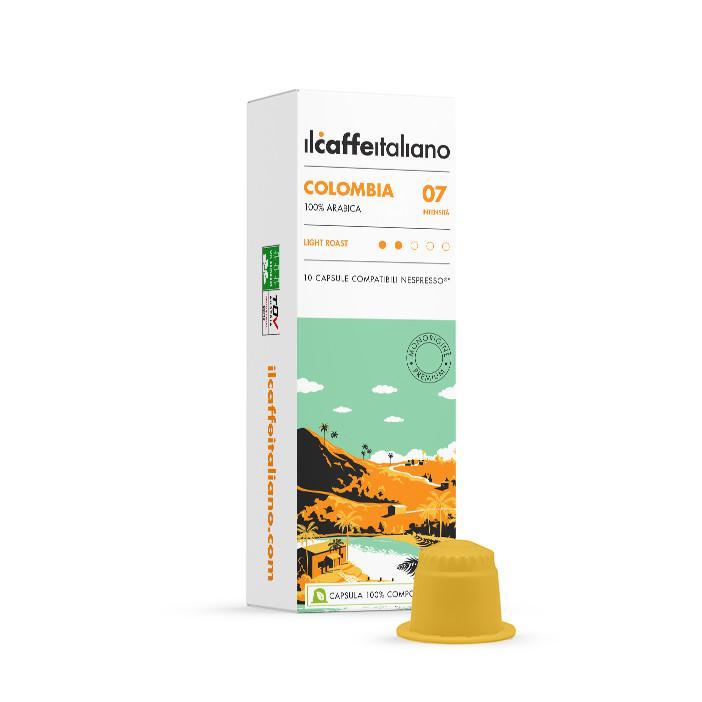 immagine che raffigura le capsule compatibili Nespresso ® , aroma Colombia , A60NCFCOL , immagine 1