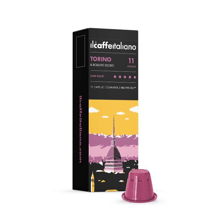 immagine che raffigura le capsule compatibili Nespresso ® , aroma Torino, A100NCFTOR , immagine 1